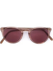 Oliver Peoples 'O'malley Nyc' Sunglasses Pink And Purple