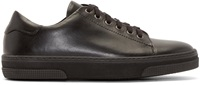 A.P.C. Black Leather Sneakers