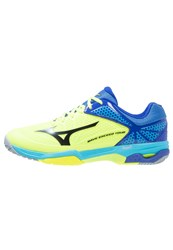 Mizuno Wave Exceed Tour 2 Allcourt Outdoor Tennis Shoes Yellow Black Surf The Web