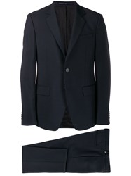 Givenchy Classic Two Piece Suit Blue