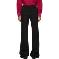 Givenchy Black Wool Classic Flare Pants