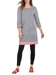 Seasalt Folly Cove Stripe Dress Race Day Fathom