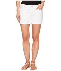 Lucky Brand The Roll Up Shorts In Clean White Clean White Women's Shorts