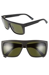 Electric Eyewear Women's Electric 'Black Top' 61Mm Flat Top Sunglasses Matte Black Grey