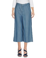 Drykorn Denim Capris Blue