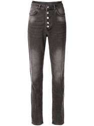 Zadig And Voltaire High Waisted Straight Leg Trousers 60