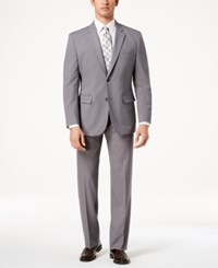 Nautica Modern Fit Active Stretch Suit Grey