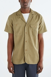 Cpo Short Sleeve Camp Workshirt Olive