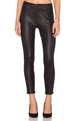 7 For All Mankind Ankle Seam Skinny Black