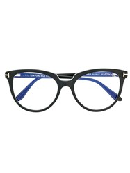Tom Ford Eyewear Cat Eye Glasses Black