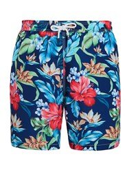 Hackett London Hawaiian Swim Shorts Multi