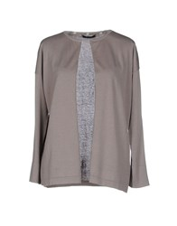 Alpha Studio Knitwear Cardigans Women Grey