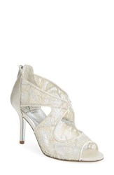 Adrianna Papell Arissa Lace Sandal Ivory Lace