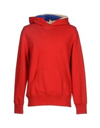 Franklin And Marshall Topwear Sweatshirts Men Red