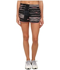 Puma Axis Short Black Salmon Rose Glitch Women's Shorts