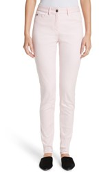 St. John Women's Collection Bardot Double Dye Stretch Jeans Blush