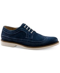 G.H. Bass G.H. Boss And Co. Men's Paxton Oxfords Men's Shoes Navy