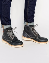 Superdry Stirling Boots Grey