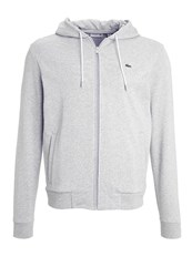 Lacoste Tracksuit Top Silver Chine Mottled Light Grey