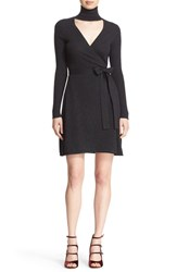Diane Von Furstenberg Women's 'Janeva' Wool And Cashmere Wrap Dress
