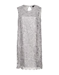Malaica Short Dresses Light Grey