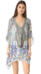 Camilla Short Lace Up Caftan Weave Of Humanity
