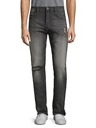Cult Of Individuality Stilt Skinny Stretch Jeans Black