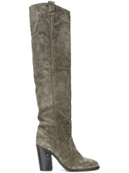Laurence Dacade 'Silas' Tall Boots Grey