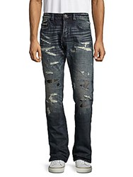 Cult Of Individuality Greaser Distressed Whiskered Jeans Copenhagen