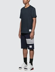 Thom Browne Relaxed Fit T Shirt Blue