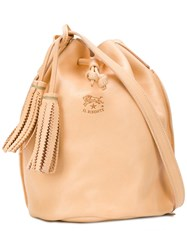 Il Bisonte Bucket Bag Nude And Neutrals
