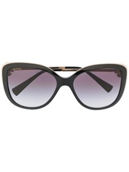 Bulgari Crystals Flower Sunglasses Black