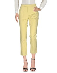 Strenesse Blue Casual Pants Light Green