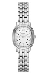 Kate Spade New York Staten Bracelet Watch 25Mm X 33Mm Silver White Silver