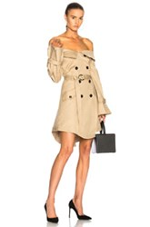 Marissa Webb Ellen Trench Dress In Neutrals