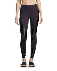 Koral Forge High Rise Athletic Leggings Purple Black Purple Black
