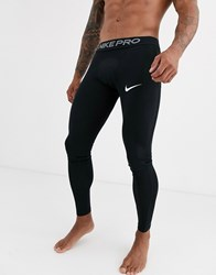 Nike Pro Training Tights In Black