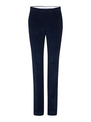 Chester Barrie Slim Fit Tailored Trousers Navy