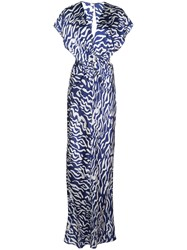 Prabal Gurung Twist Front Two Tone Gown 60