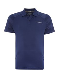 Bjorn Borg Tyler Short Sleeve Pique Polo Navy