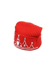 Markus Lupfer Hats Red