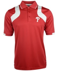 Antigua Men's Short Sleeve Philadelphia Phillies Fusion Polo