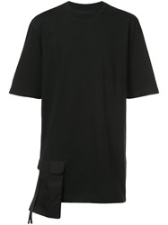 D.Gnak Front Pocket T Shirt Black