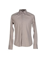 Dekker Shirts Shirts Men Light Grey