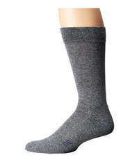 Hue Marled Sock With Half Cushion Black Pack Men's Crew Cut Socks Shoes