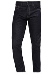 Replay Grover Straight Leg Jeans Dark Blue Denim Dark Blue Denim