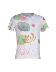 Kaos Topwear T Shirts Men White