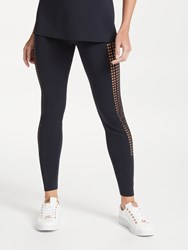Ted Baker Fit To A T Uzaina Bow Leggings Black
