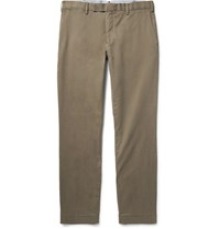 Polo Ralph Lauren Slim Fit Stretch Cotton Twill Chinos Mushroom