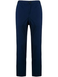 Polo Ralph Lauren Embroidered Logo Trousers Blue